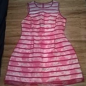 INC pink floral dress